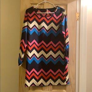 Chevron (S) Dress